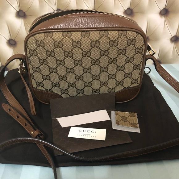 eb2755a4c98445 Gucci Bags | Authentic Bree Monogram Crossbody | Poshmark
